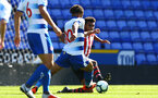 SOUTHAMPTON, ENGLAND - SEPTEMBER 29: Marcus Barnes (right) during a PL2 U23s match where Reading FC play Southampton FC at Madjeski Stadium on September 29, 2018 in Reading, England. (Photo by James Bridle - Southampton FC/Southampton FC via Getty Images)