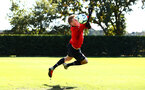 SOUTHAMPTON, ENGLAND - OCTOBER 01: Jack Bycroft during a Southampton FC training session at Staplewood Complex on October 1, 2018 in Southampton, England. (Photo by James Bridle - Southampton FC/Southampton FC via Getty Images)