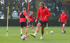 SOUTHAMPTON, ENGLAND - OCTOBER 05: Jannik Vestergaard during a Southampton FC training session at the Staplewood Campus on October 5, 2018 in Southampton, England. (Photo by Matt Watson/Southampton FC via Getty Images)