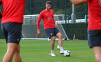 SOUTHAMPTON, ENGLAND - OCTOBER 05: Wesley Hoedt during a Southampton FC training session at the Staplewood Campus on October 5, 2018 in Southampton, England. (Photo by Matt Watson/Southampton FC via Getty Images)