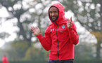 SOUTHAMPTON, ENGLAND - OCTOBER 05: Nathan Redmond during a Southampton FC training session at the Staplewood Campus on October 5, 2018 in Southampton, England. (Photo by Matt Watson/Southampton FC via Getty Images)
