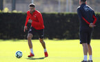 SOUTHAMPTON, ENGLAND - OCTOBER 09: Wesley Hoedt during a Southampton FC training session at the Staplewood Campus on October 9, 2018 in Southampton, England. (Photo by Matt Watson/Southampton FC via Getty Images)
