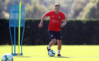 SOUTHAMPTON, ENGLAND - OCTOBER 09: James Ward-Prowse during a Southampton FC training session at the Staplewood Campus on October 9, 2018 in Southampton, England. (Photo by Matt Watson/Southampton FC via Getty Images)