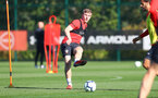 SOUTHAMPTON, ENGLAND - OCTOBER 09: Matt Targett during a Southampton FC training session at the Staplewood Campus on October 9, 2018 in Southampton, England. (Photo by Matt Watson/Southampton FC via Getty Images)