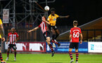 CAMBRIDGE, ENGLAND - OCTOBER 09: Tom OÕconnor of Southampton FC  (middle) during the U21s Checkatade Trophy between Cambridge United and Southampton FC pictured at Abbey Stadium on October 9, 2018 in Cambridge, England. (Photo by James Bridle - Southampton FC/Southampton FC via Getty Images) CAMBRIDGE, ENGLAND - OCTOBER 09: Tom O'connor of Southampton FC  (middle) during the U21s Checkatade Trophy between Cambridge United and Southampton FC pictured at Abbey Stadium on October 9, 2018 in Cambridge, England. (Photo by James Bridle - Southampton FC/Southampton FC via Getty Images)