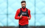 SOUTHAMPTON, ENGLAND - OCTOBER 15: Charlie Austin during a Southampton FC training session at the Staplewood Campus, on October 15, 2018 in Southampton, England. (Photo by Matt Watson/Southampton FC via Getty Images)