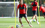 SOUTHAMPTON, ENGLAND - OCTOBER 18: Stuart Armstrong during a Southampton FC training session at the Staplewood Campus on October 18, 2018 in Southampton, England. (Photo by Matt Watson/Southampton FC via Getty Images)