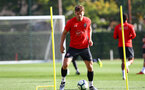SOUTHAMPTON, ENGLAND - OCTOBER 18: Sam Gallagher during a Southampton FC training session at the Staplewood Campus on October 18, 2018 in Southampton, England. (Photo by Matt Watson/Southampton FC via Getty Images)