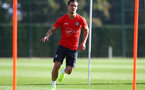 SOUTHAMPTON, ENGLAND - OCTOBER 18: Cedric during a Southampton FC training session at the Staplewood Campus on October 18, 2018 in Southampton, England. (Photo by Matt Watson/Southampton FC via Getty Images)