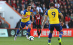 BOURNEMOUTH, ENGLAND - OCTOBER 20: Mohamed Elyounoussi of Southampton during the Premier League match between AFC Bournemouth and Southampton FC at Vitality Stadium on October 20, 2018 in Bournemouth, United Kingdom. (Photo by Matt Watson/Southampton FC via Getty Images)