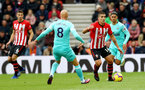 SOUTHAMPTON, ENGLAND - OCTOBER 27: Oriol Romeu of Southampton during the Premier League match between Southampton FC and Newcastle United at St Mary's Stadium on October 27, 2018 in Southampton, United Kingdom. (Photo by Matt Watson/Southampton FC via Getty Images)