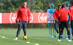 SOUTHAMPTON, ENGLAND - OCTOBER 30: Jannik Vestergaard during a Southampton FC training session at the Staplewood Campus on October 30, 2018 in Southampton, England. (Photo by Matt Watson/Southampton FC via Getty Images)