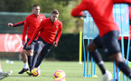 SOUTHAMPTON, ENGLAND - OCTOBER 30: Jan Bednarek during a Southampton FC training session at the Staplewood Campus on October 30, 2018 in Southampton, England. (Photo by Matt Watson/Southampton FC via Getty Images)