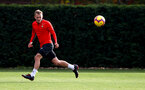 SOUTHAMPTON, ENGLAND - OCTOBER 30: James Ward-Prowse during a Southampton FC training session at the Staplewood Campus on October 30, 2018 in Southampton, England. (Photo by Matt Watson/Southampton FC via Getty Images)