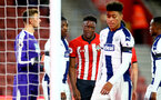 SOUTHAMPTON, ENGLAND - NOVEMBER 02: during the U23s Premier League 2 match between Southampton FC and Westbrom Albion FC, 2018 in Southampton, England. (Photo by James Bridle - Southampton FC/Southampton FC via Getty Images)