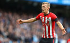 MANCHESTER, ENGLAND - NOVEMBER 04: James Ward-Prowse of Southampton during the Premier League match between Manchester City and Southampton FC at Etihad Stadium on November 4, 2018 in Manchester, United Kingdom. (Photo by Matt Watson/Southampton FC via Getty Images)