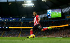 MANCHESTER, ENGLAND - NOVEMBER 04: Ryan Bertrand of Southampton during the Premier League match between Manchester City and Southampton FC at Etihad Stadium on November 4, 2018 in Manchester, United Kingdom. (Photo by Matt Watson/Southampton FC via Getty Images)