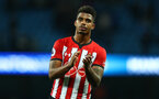 MANCHESTER, ENGLAND - NOVEMBER 04: Mario Lemina of Southampton during the Premier League match between Manchester City and Southampton FC at Etihad Stadium on November 4, 2018 in Manchester, United Kingdom. (Photo by Matt Watson/Southampton FC via Getty Images)