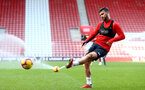 SOUTHAMPTON, ENGLAND - NOVEMBER 07: Shane Long during a Southampton FC training session at St Mary's Stadium on November 7, 2018 in Southampton, England. (Photo by James Bridle - Southampton FC/Southampton FC via Getty Images)