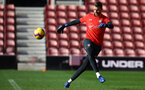 SOUTHAMPTON, ENGLAND - NOVEMBER 07: Angus Gunn during a Southampton FC training session at St Mary's Stadium on November 7, 2018 in Southampton, England. (Photo by James Bridle - Southampton FC/Southampton FC via Getty Images)
