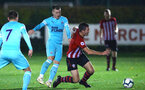 SOUTHAMPTON, ENGLAND - NOVEMBER 09: Thomas OÕConnor (right) during the Premier League 2 match between Southampton FC and Newcastle United pictured at Staplewood Complex on November 09, 2018 in Southampton, England. (Photo by James Bridle - Southampton FC/Southampton FC via Getty Images) SOUTHAMPTON, ENGLAND - NOVEMBER 09: Thomas O'Connor (right) during the Premier League 2 match between Southampton FC and Newcastle United pictured at Staplewood Complex on November 09, 2018 in Southampton, England. (Photo by James Bridle - Southampton FC/Southampton FC via Getty Images)