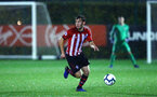 SOUTHAMPTON, ENGLAND - NOVEMBER 09: Jake Vokins during the Premier League 2 match between Southampton FC and Newcastle United pictured at Staplewood Complex on November 09, 2018 in Southampton, England. (Photo by James Bridle - Southampton FC/Southampton FC via Getty Images)