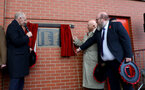 SOUTHAMPTON, ENGLAND - NOVEMBER 10: Plaque unveiling ahead of the Premier League match between Southampton FC and Watford FC at St Mary's Stadium on November 10, 2018 in Southampton, United Kingdom. (Photo by Matt Watson/Southampton FC via Getty Images)