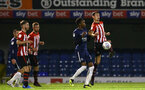 SOUTHEND, ENGLAND - NOVEMBER 14: Thomas OÕConnor (right) during the Checkatrade Trophy match between Southend United and Southampton FC U21s pictured at Roots Hall on November 14, 2018 in Southend, England. (Photo by James Bridle - Southampton FC/Southampton FC via Getty Images) SOUTHEND, ENGLAND - NOVEMBER 14: Thomas O'Connor (right) during the Checkatrade Trophy match between Southend United and Southampton FC U21s pictured at Roots Hall on November 14, 2018 in Southend, England. (Photo by James Bridle - Southampton FC/Southampton FC via Getty Images)
