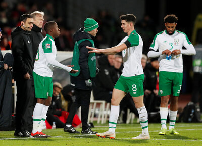Obafemi makes Ireland debut