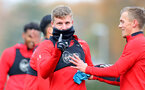 SOUTHAMPTON, ENGLAND - NOVEMBER 22: Matt Targett during a Southampton FC training session at the Staplewood Campus on November 22, 2018 in Southampton, England. (Photo by Matt Watson/Southampton FC via Getty Images)