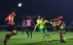 NORWICH, ENGLAND - NOVEMBER 23: LtoR Tom OÕConnor, Marcus Barnes during the U23s PL2 match between Norwich City and Southampton FC pictured at Colney Training Ground on November 23, 2018 in Norwich, England. (Photo by James Bridle - Southampton FC/Southampton FC via Getty Images) NORWICH, ENGLAND - NOVEMBER 23: LtoR Tom O'Connor, Marcus Barnes during the U23s PL2 match between Norwich City and Southampton FC pictured at Colney Training Ground on November 23, 2018 in Norwich, England. (Photo by James Bridle - Southampton FC/Southampton FC via Getty Images)