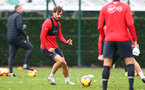 SOUTHAMPTON, ENGLAND - NOVEMBER 29: Manolo Gabbiadini during a Southampton FC training session at the Staplewood Campus on November 29, 2018 in Southampton, England. (Photo by Matt Watson/Southampton FC via Getty Images)