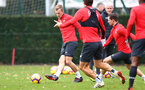 SOUTHAMPTON, ENGLAND - NOVEMBER 29: James Ward-Prowse during a Southampton FC training session at the Staplewood Campus on November 29, 2018 in Southampton, England. (Photo by Matt Watson/Southampton FC via Getty Images)