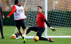 SOUTHAMPTON, ENGLAND - DECEMBER 03: Harry Lewis during a Southampton FC training session at the Staplewood Campus on December 3, 2018 in Southampton, England. (Photo by Matt Watson/Southampton FC via Getty Images)