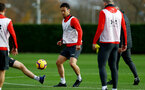 SOUTHAMPTON, ENGLAND - DECEMBER 03: Maya Yoshida during a Southampton FC training session at the Staplewood Campus on December 3, 2018 in Southampton, England. (Photo by Matt Watson/Southampton FC via Getty Images)