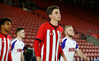 SOUTHAMPTON, ENGLAND - NOVEMBER 04: James Morris ahead of kick off for the U18's FA Youth Cup match between Southampton FC and Rotherham United pictured at St Mary's Stadium on December 4, 2018 in Southampton, England. (Photo by James Bridle - Southampton FC/Southampton FC via Getty Images)