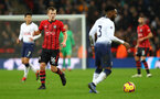 LONDON, ENGLAND - DECEMBER 05: James Ward-Prowse of Southampton during the Premier League match between Tottenham Hotspur and Southampton FC at Tottenham Hotspur Stadium on December 5, 2018 in London, United Kingdom. (Photo by Matt Watson/Southampton FC via Getty Images)