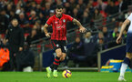 LONDON, ENGLAND - DECEMBER 05: Charlie Austin of Southampton during the Premier League match between Tottenham Hotspur and Southampton FC at Tottenham Hotspur Stadium on December 5, 2018 in London, United Kingdom. (Photo by Matt Watson/Southampton FC via Getty Images)