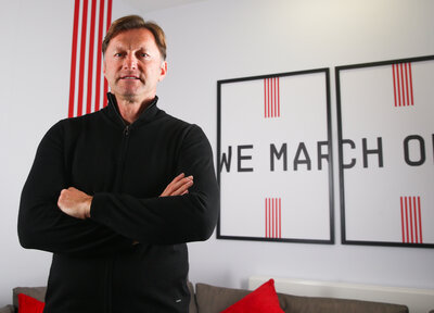 SAINTS: Hasenhüttl interviewed for Arsenal programme
