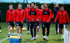 SOUTHAMPTON, ENGLAND - DECEMBER 06: players during a Southampton FC training session at the Staplewood Campus on December 6, 2018 in Southampton, England. (Photo by Matt Watson/Southampton FC via Getty Images)