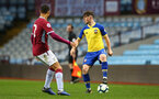 BIRMINGHAM, ENGLAND - DECEMBER 07: Will Ferry (right) during the match between Aston Villa FC and Southampton FC pictured at Villa Park Stadium  on December 7, 2018 in Birmingham, England. (Photo by James Bridle - Southampton FC/Southampton FC via Getty Images)