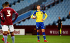 BIRMINGHAM, ENGLAND - DECEMBER 07: Will Smallbone sets up for a freekick during the match between Aston Villa FC and Southampton FC pictured at Villa Park Stadium  on December 7, 2018 in Birmingham, England. (Photo by James Bridle - Southampton FC/Southampton FC via Getty Images)