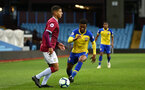 BIRMINGHAM, ENGLAND - DECEMBER 07:Nathan Tella (middle) during the match between Aston Villa FC and Southampton FC pictured at Villa Park Stadium  on December 7, 2018 in Birmingham, England. (Photo by James Bridle - Southampton FC/Southampton FC via Getty Images)