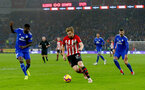CARDIFF, WALES - DECEMBER 08: Stuart Armstrong of Southampton during the Premier League match between Cardiff City and Southampton FC at Cardiff City Stadium on December 8, 2018 in Cardiff, United Kingdom. (Photo by Matt Watson/Southampton FC via Getty Images)