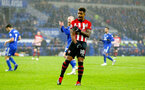 CARDIFF, WALES - DECEMBER 08: Mario Lemina of Southampton during the Premier League match between Cardiff City and Southampton FC at Cardiff City Stadium on December 8, 2018 in Cardiff, United Kingdom. (Photo by Matt Watson/Southampton FC via Getty Images)