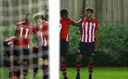 SOUTHAMPTON, ENGLAND - DECEMBER 11: Marcus Barnes (right) during the U23s Cup match between Southampton FC and West Ham United pictured at Staplewood Training Ground on December 11, 2018 in Southampton England. (Photo by James Bridle - Southampton FC/Southampton FC via Getty Images)