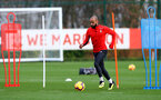 SOUTHAMPTON, ENGLAND - DECEMBER 12: Nathan Redmond during a Southampton FC training session at the Staplewood Campus on December 12, 2018 in Southampton, England. (Photo by Matt Watson/Southampton FC via Getty Images)