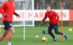 SOUTHAMPTON, ENGLAND - DECEMBER 12: Matt Targett during a Southampton FC training session at the Staplewood Campus on December 12, 2018 in Southampton, England. (Photo by Matt Watson/Southampton FC via Getty Images)
