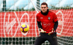 SOUTHAMPTON, ENGLAND - DECEMBER 12: Alex McCarthy during a Southampton FC training session at the Staplewood Campus on December 12, 2018 in Southampton, England. (Photo by Matt Watson/Southampton FC via Getty Images)