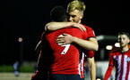 SOUTHAMPTON, ENGLAND - DECEMBER 14: Jonathan Afolabi scores and is hugged by Aaron OÕDriscoll during the U23s Cup match between Southampton FC and Newcastle United pictured at Staplewood Training Ground on December 14, 2018 in Southampton England. (Photo by James Bridle - Southampton FC/Southampton FC via Getty Images) SOUTHAMPTON, ENGLAND - DECEMBER 14: Jonathan Afolabi scores and is hugged by Aaron O'Driscoll during the U23s Cup match between Southampton FC and Newcastle United pictured at Staplewood Training Ground on December 14, 2018 in Southampton England. (Photo by James Bridle - Southampton FC/Southampton FC via Getty Images)
